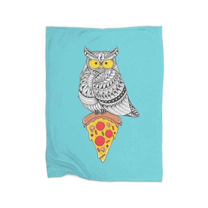 Midnight Snack Home Blanket by godzillarge's Artist Shop