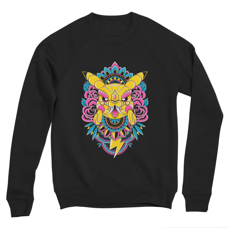 Oni Pikachu Men's Sweatshirt by godzillarge's Artist Shop