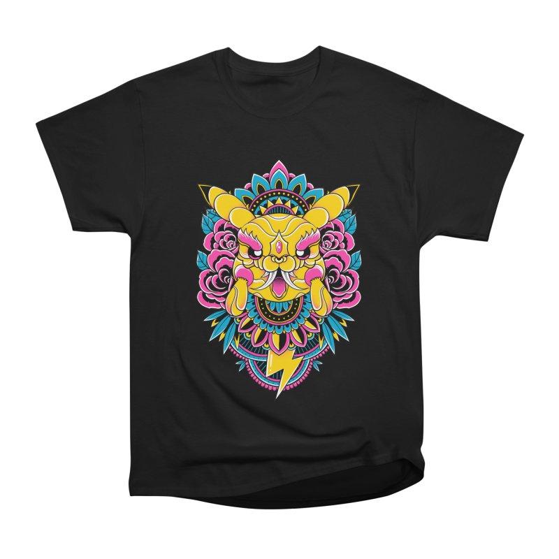 Oni Pikachu Men's T-Shirt by godzillarge's Artist Shop