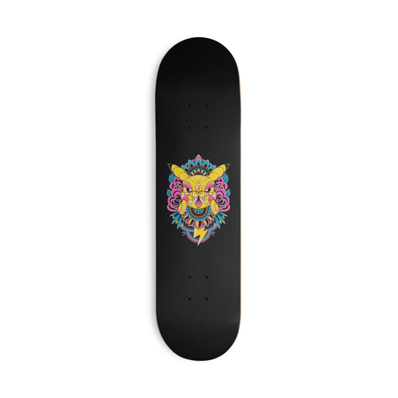 Oni Pikachu Accessories Skateboard by godzillarge's Artist Shop