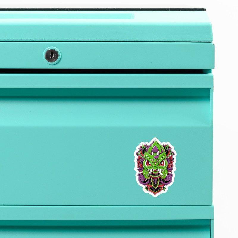 Oni Bulbasaur Accessories Magnet by godzillarge's Artist Shop