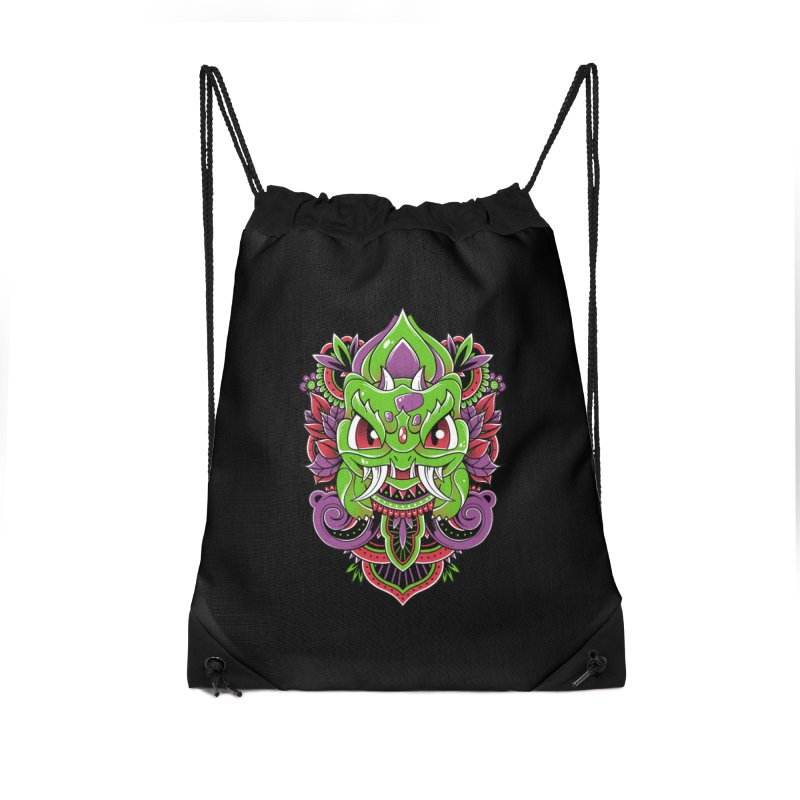 Oni Bulbasaur Accessories Bag by godzillarge's Artist Shop