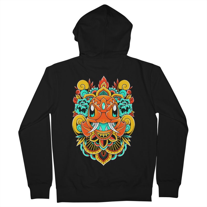 Oni Charmender Men's Zip-Up Hoody by godzillarge's Artist Shop
