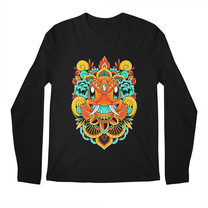 Oni Charmender Men's Longsleeve T-Shirt by godzillarge's Artist Shop