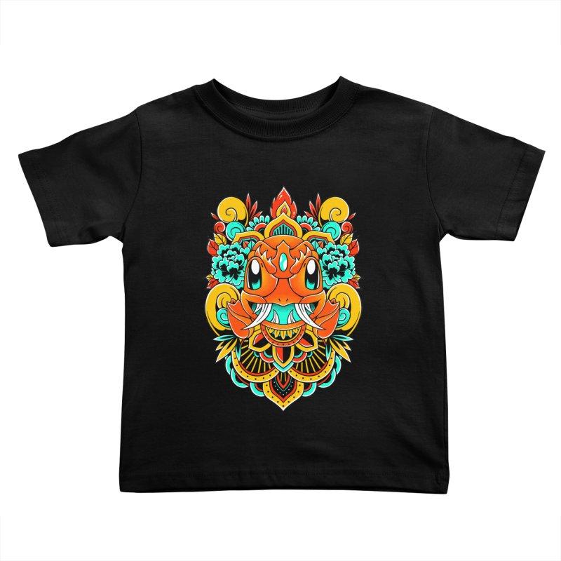 Oni Charmender Kids Toddler T-Shirt by godzillarge's Artist Shop