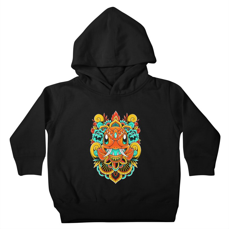 Oni Charmender Kids Toddler Pullover Hoody by godzillarge's Artist Shop