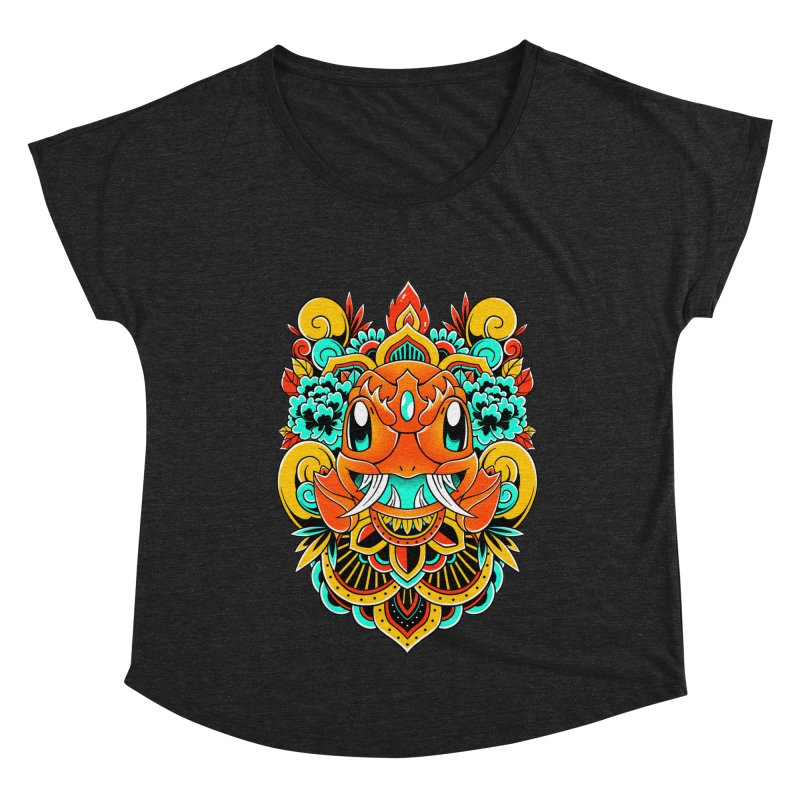 Oni Charmender Women's Scoop Neck by godzillarge's Artist Shop
