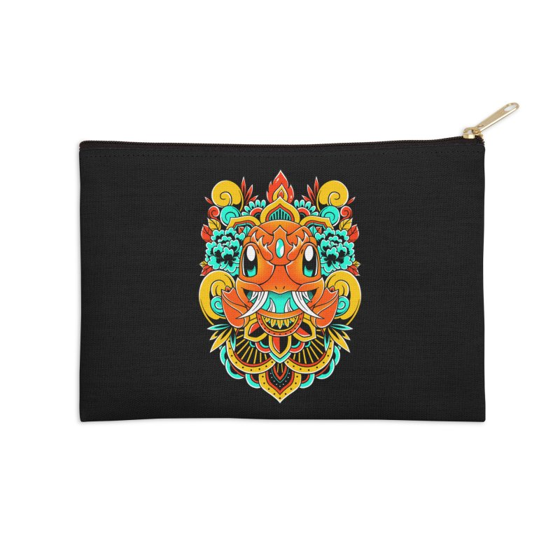 Oni Charmender Accessories Zip Pouch by godzillarge's Artist Shop
