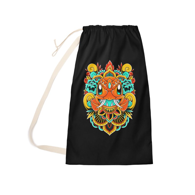 Oni Charmender Accessories Bag by godzillarge's Artist Shop