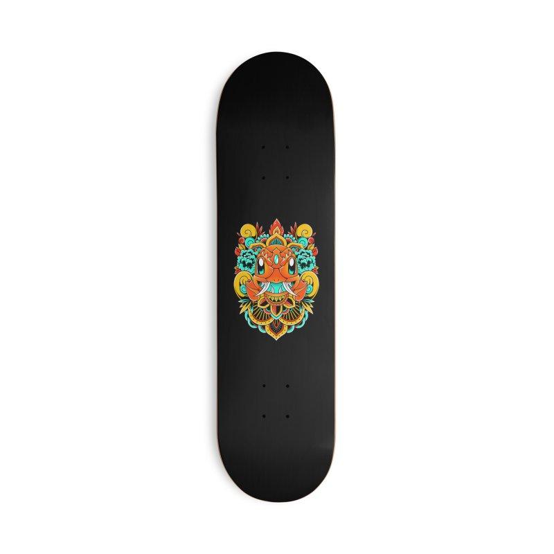 Oni Charmender Accessories Skateboard by godzillarge's Artist Shop