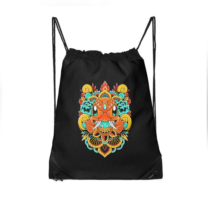 Oni Charmender Accessories Bag by godzillarge's Artist Shop