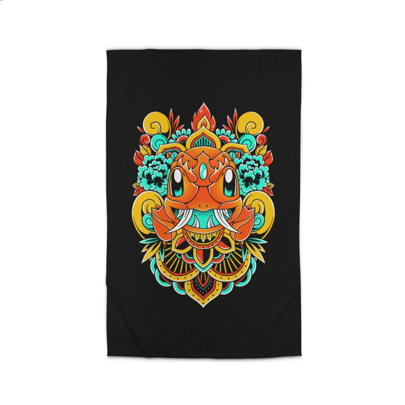 Oni Charmender Home Rug by godzillarge's Artist Shop