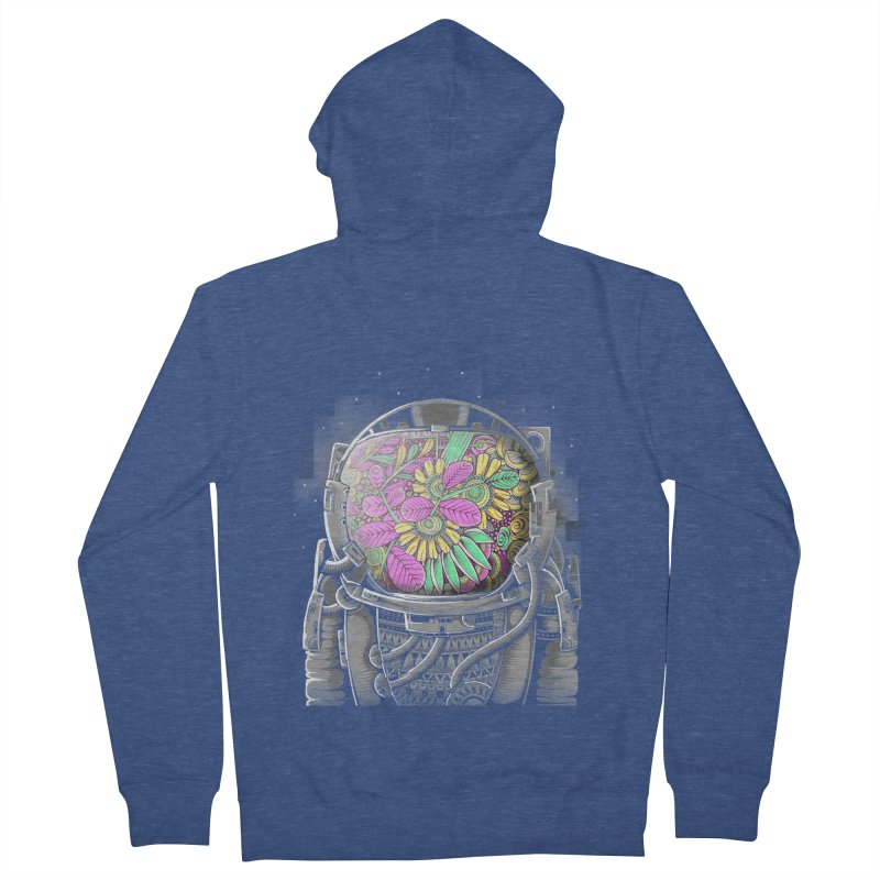 Wish You Were Here Men's Zip-Up Hoody by godzillarge's Artist Shop