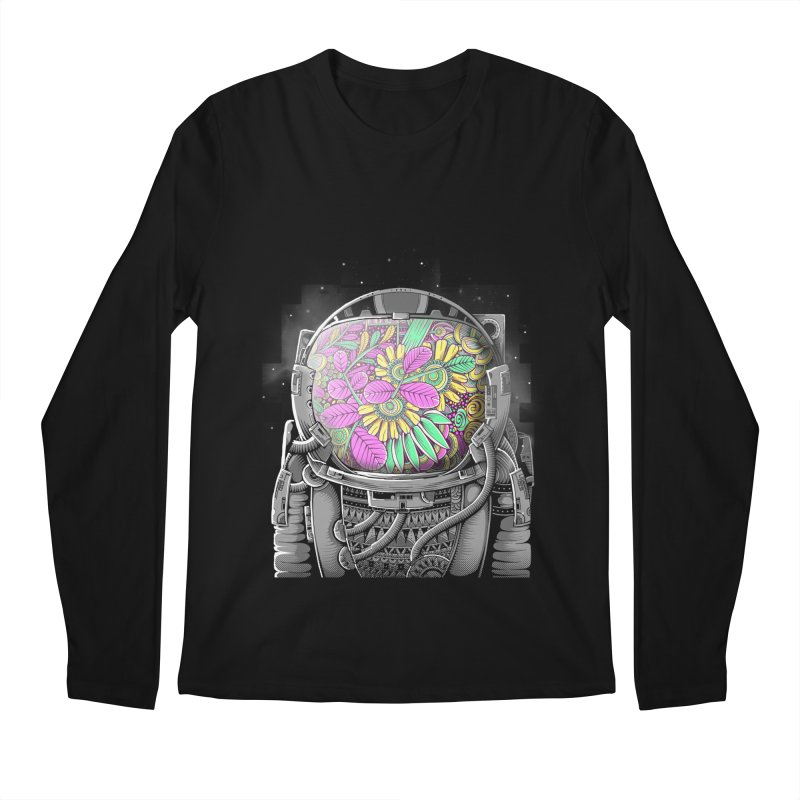 Wish You Were Here Men's Longsleeve T-Shirt by godzillarge's Artist Shop