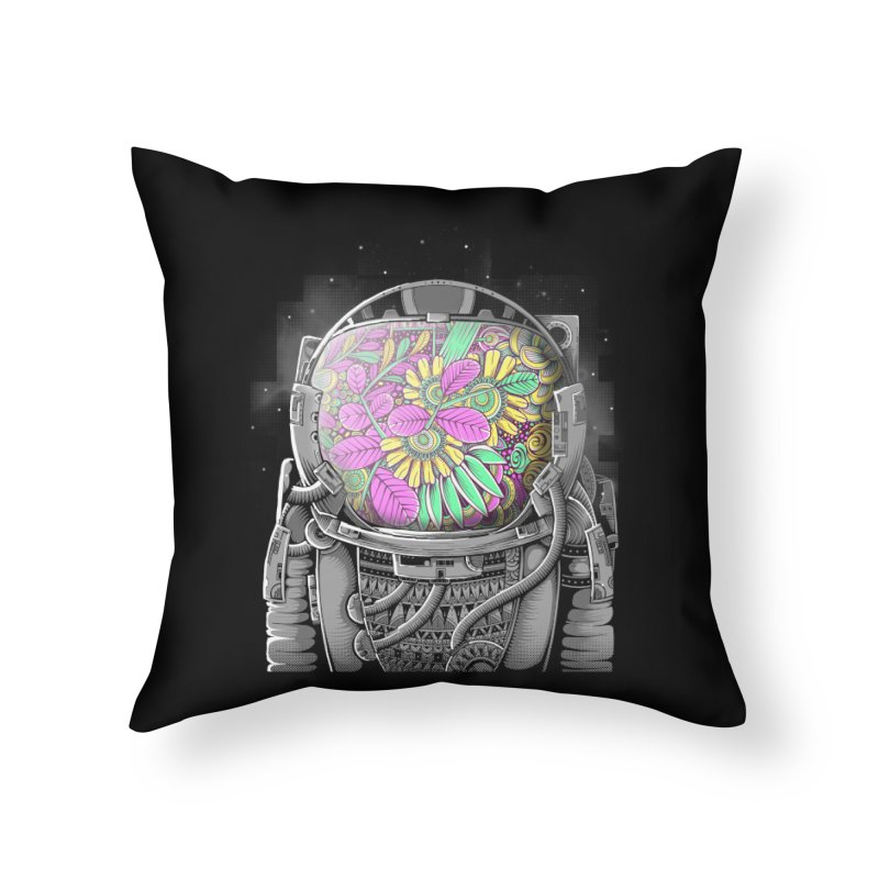 Wish You Were Here Home Throw Pillow by godzillarge's Artist Shop