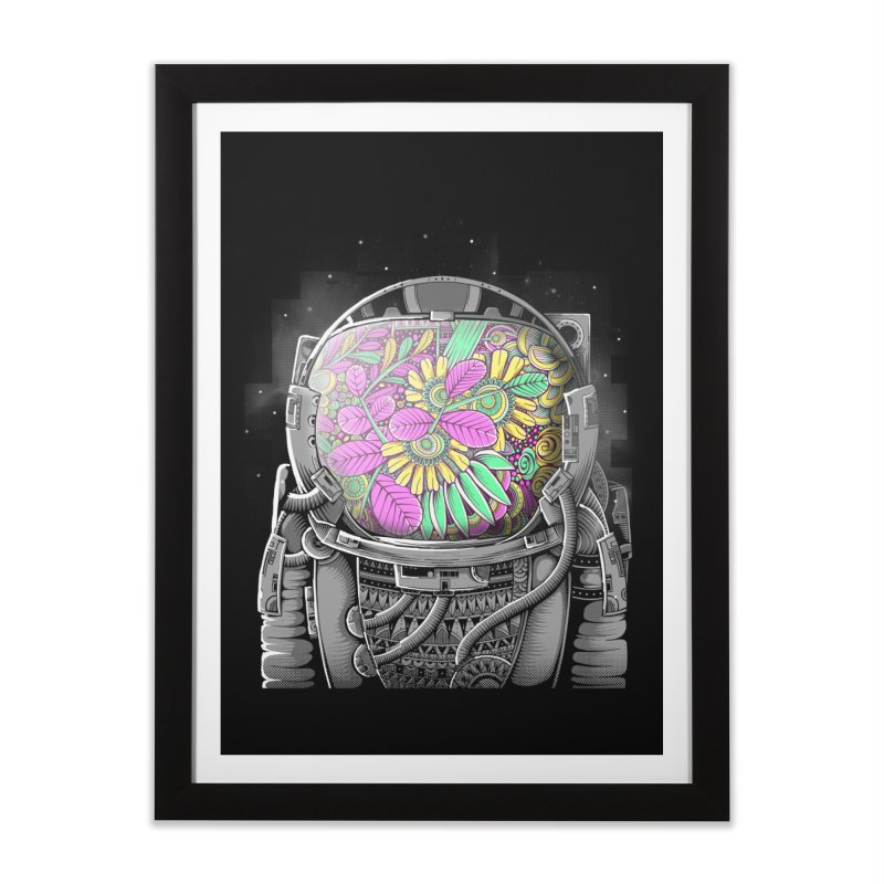 Wish You Were Here Home Framed Fine Art Print by godzillarge's Artist Shop