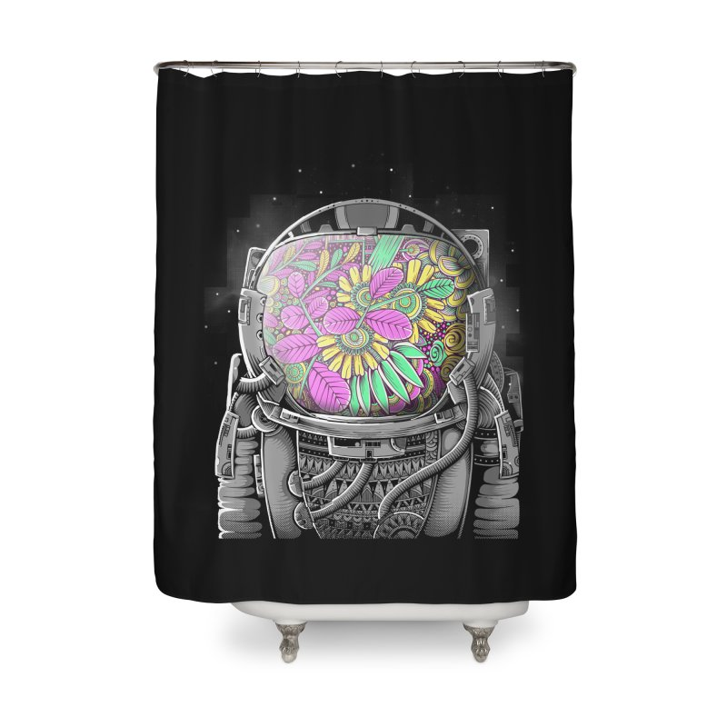 Wish You Were Here Home Shower Curtain by godzillarge's Artist Shop