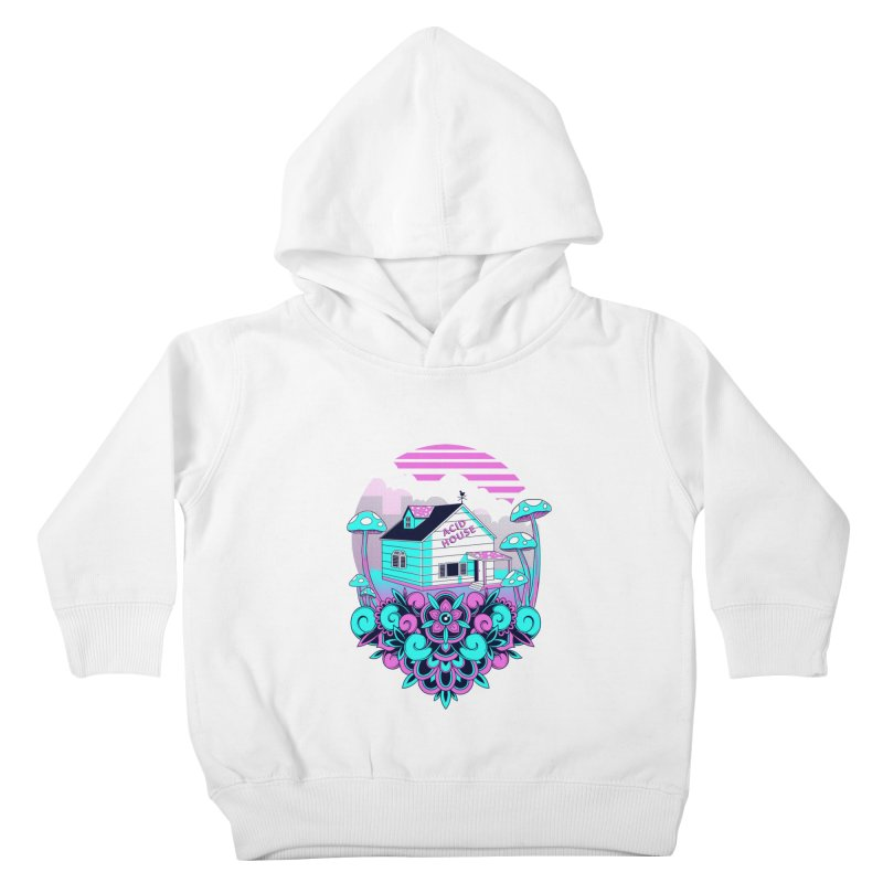 Acid House Kids Toddler Pullover Hoody by godzillarge's Artist Shop