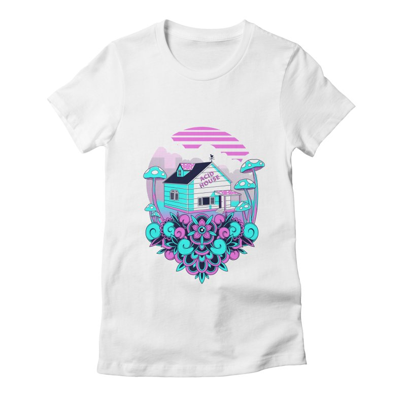 Acid House Women's T-Shirt by godzillarge's Artist Shop