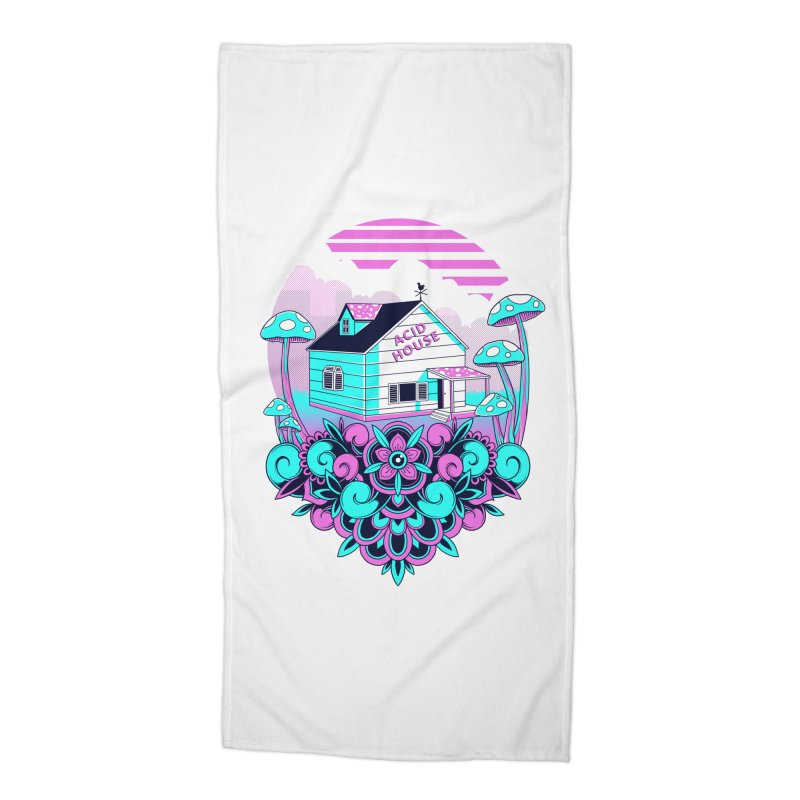 Acid House Accessories Beach Towel by godzillarge's Artist Shop