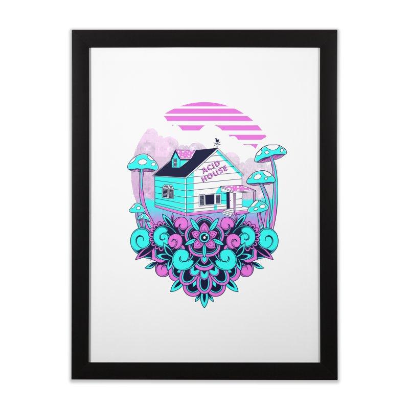 Acid House Home Framed Fine Art Print by godzillarge's Artist Shop
