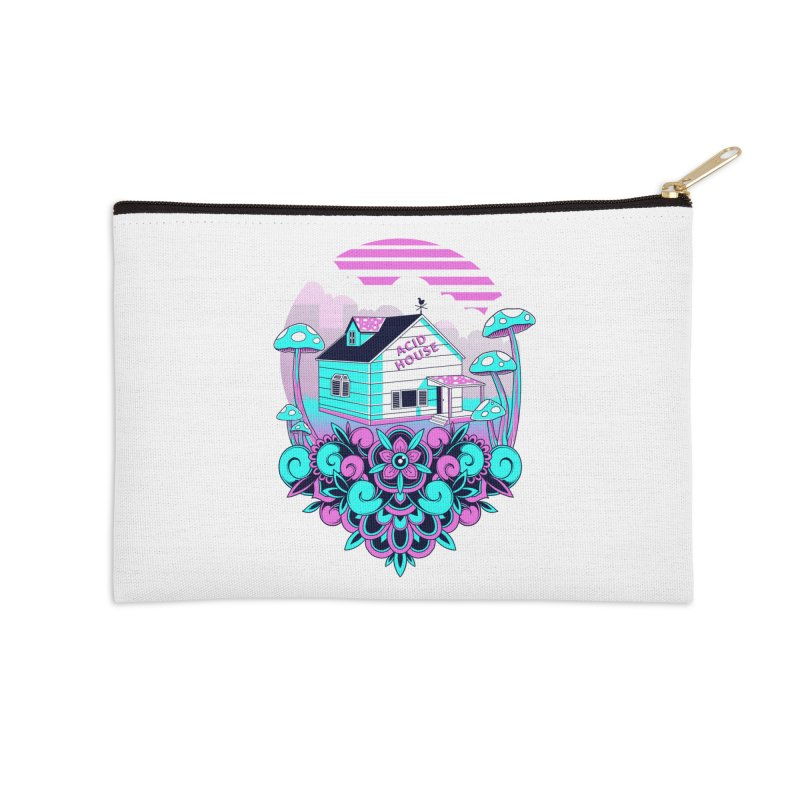 Acid House Accessories Zip Pouch by godzillarge's Artist Shop