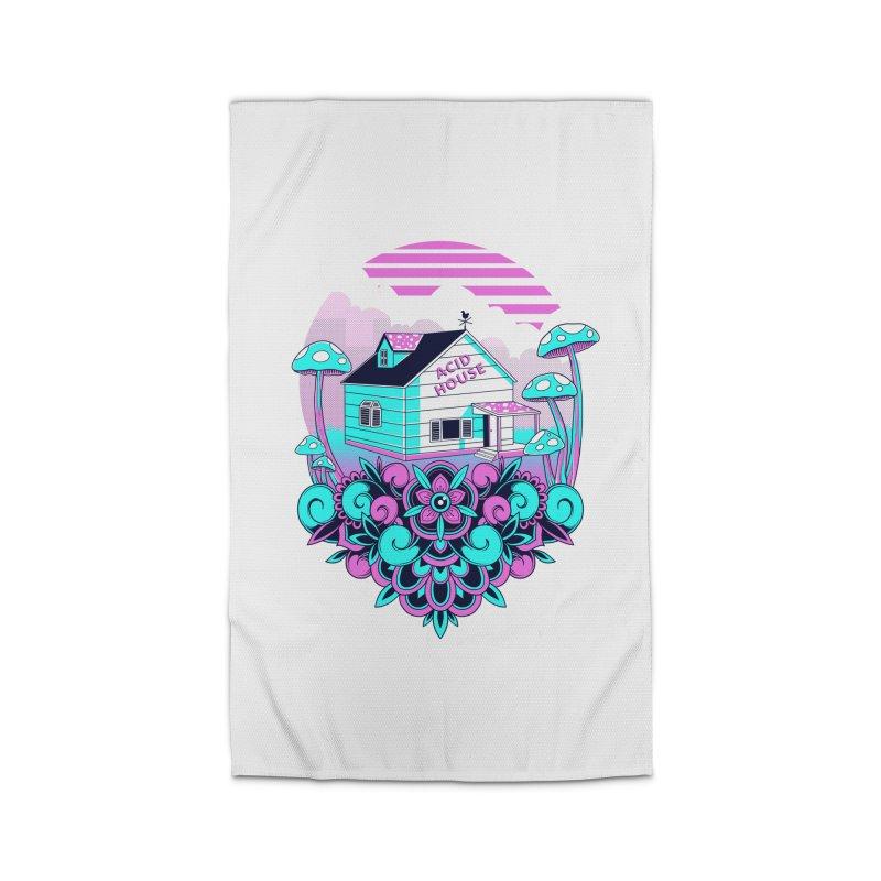 Acid House Home Rug by godzillarge's Artist Shop