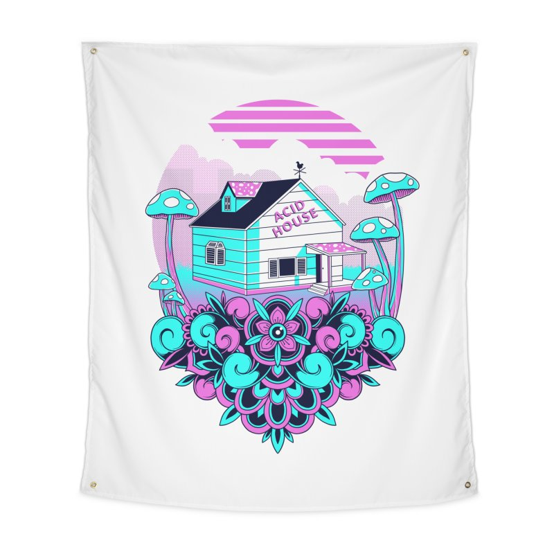Acid House Home Tapestry by godzillarge's Artist Shop