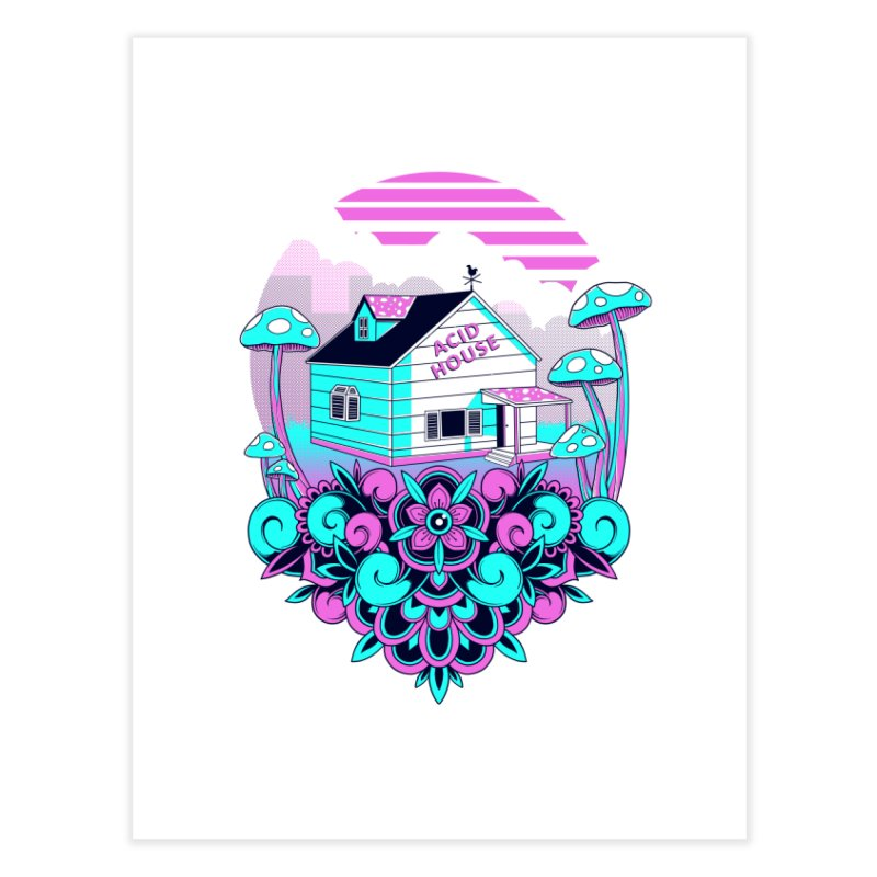 Acid House Home Fine Art Print by godzillarge's Artist Shop