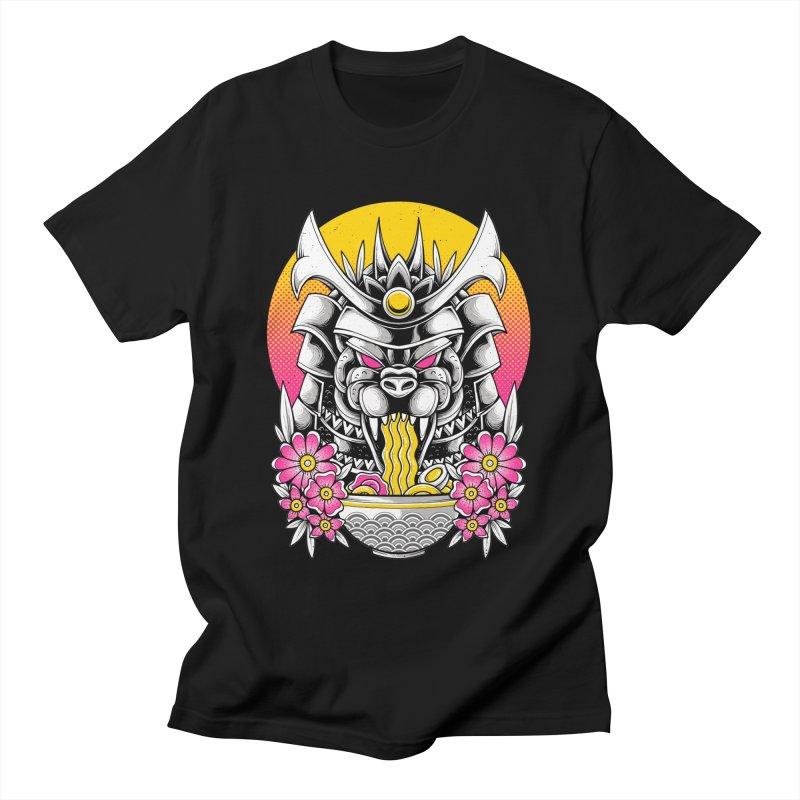 Samurai Kaiju Ramen Women's T-Shirt by godzillarge's Artist Shop