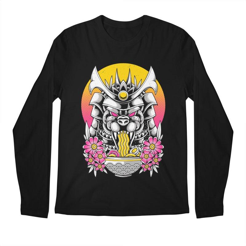 Samurai Kaiju Ramen Men's Longsleeve T-Shirt by godzillarge's Artist Shop
