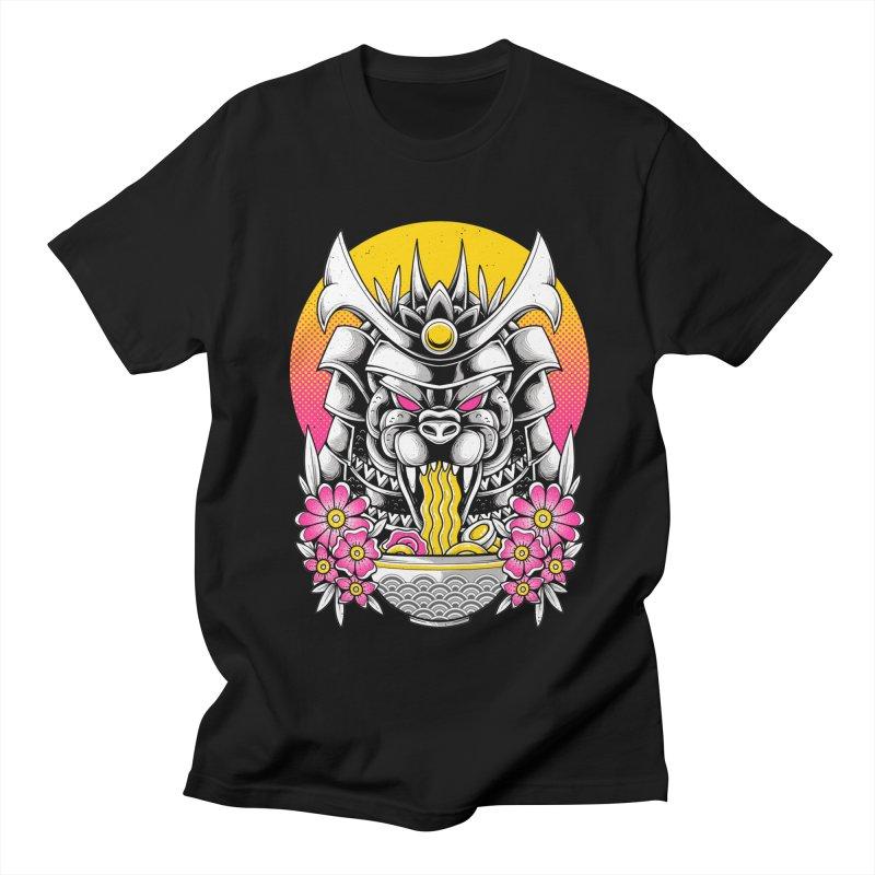 Samurai Kaiju Ramen Men's T-Shirt by godzillarge's Artist Shop