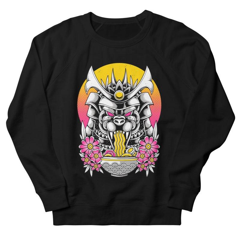 Samurai Kaiju Ramen Men's Sweatshirt by godzillarge's Artist Shop
