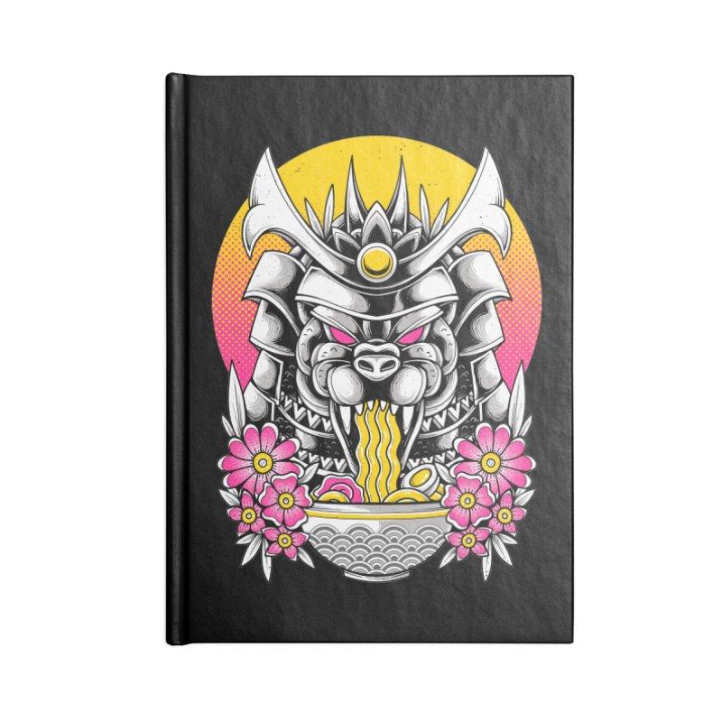 Samurai Kaiju Ramen Accessories Notebook by godzillarge's Artist Shop