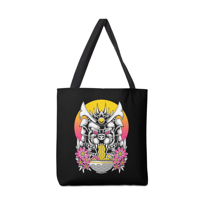 Samurai Kaiju Ramen Accessories Bag by godzillarge's Artist Shop