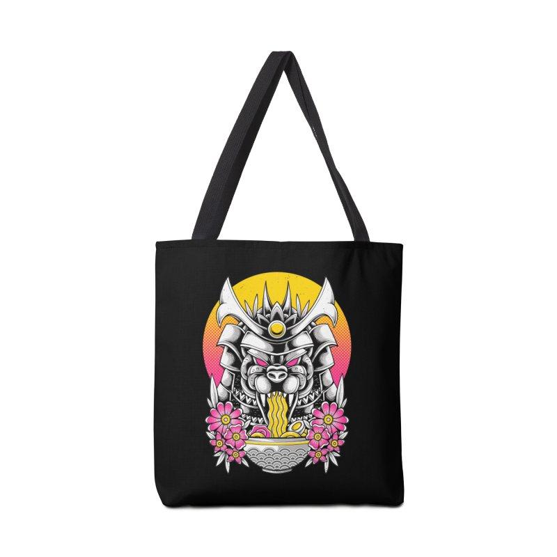 Samurai Kaiju Ramen Accessories Bag by godzillarge's Artist Shop
