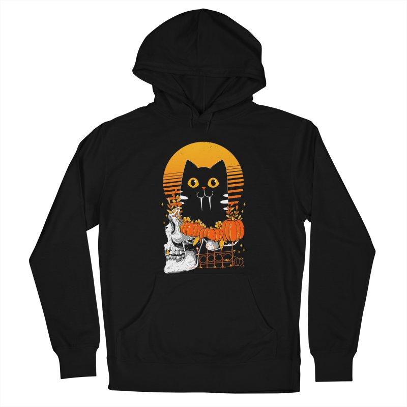 Halloween Cat Men's Pullover Hoody by godzillarge's Artist Shop