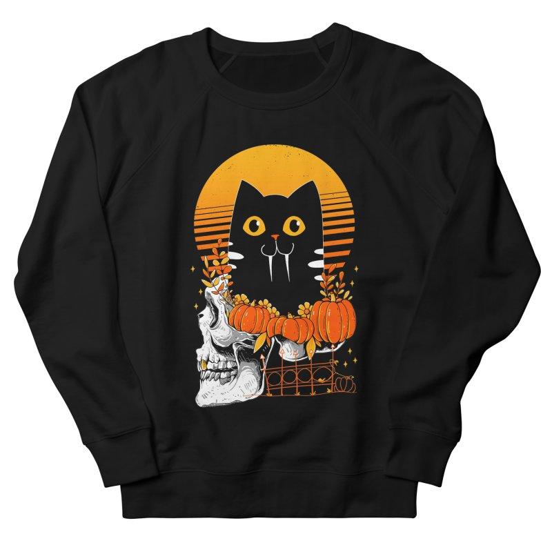 Halloween Cat Women's Sweatshirt by godzillarge's Artist Shop