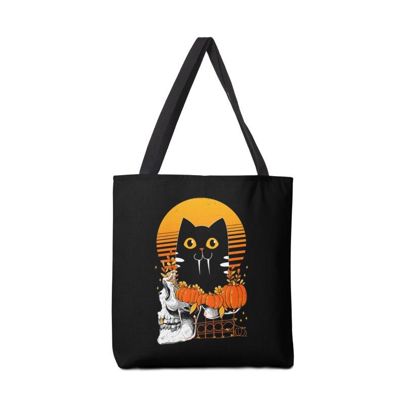Halloween Cat Accessories Bag by godzillarge's Artist Shop