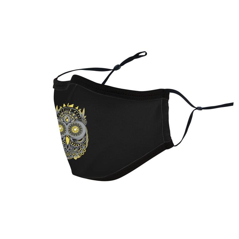 Golden Owl Accessories Face Mask by godzillarge's Artist Shop