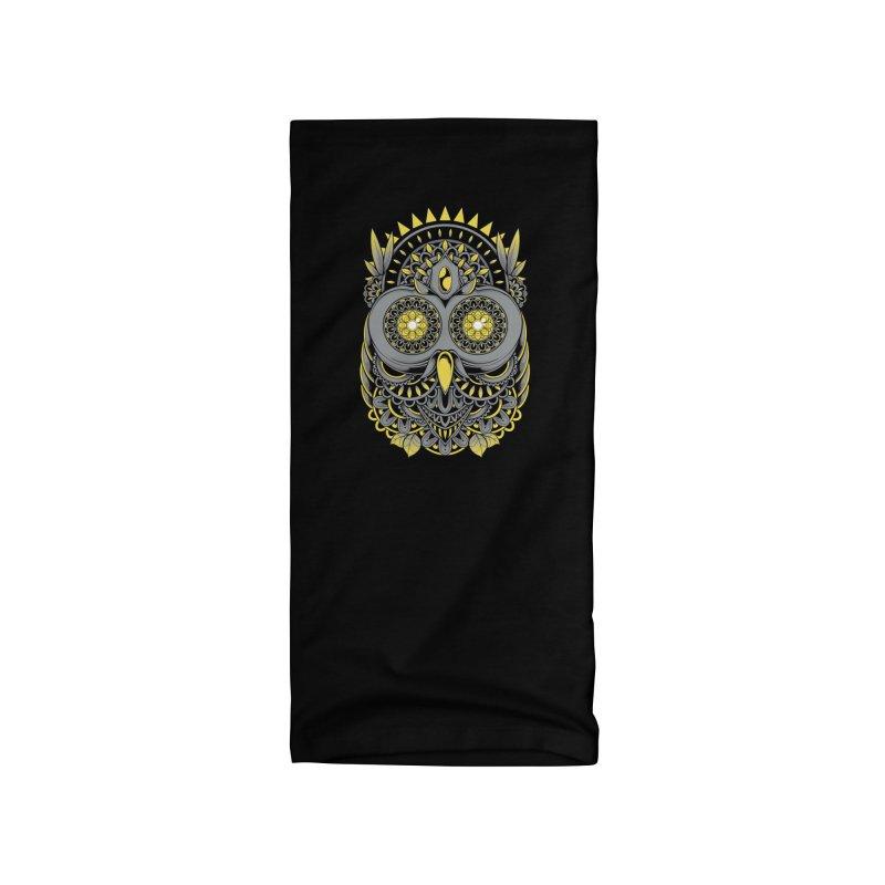 Golden Owl Accessories Neck Gaiter by godzillarge's Artist Shop