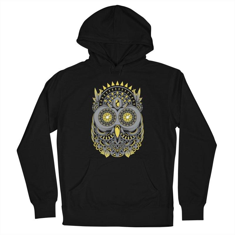 Golden Owl Women's Pullover Hoody by godzillarge's Artist Shop