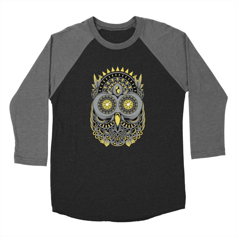 Golden Owl Women's Longsleeve T-Shirt by godzillarge's Artist Shop