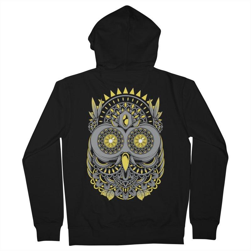 Golden Owl Women's Zip-Up Hoody by godzillarge's Artist Shop
