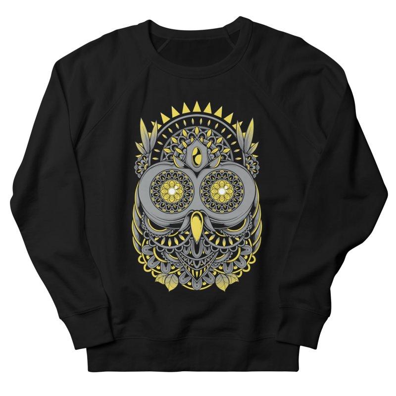Golden Owl Women's Sweatshirt by godzillarge's Artist Shop