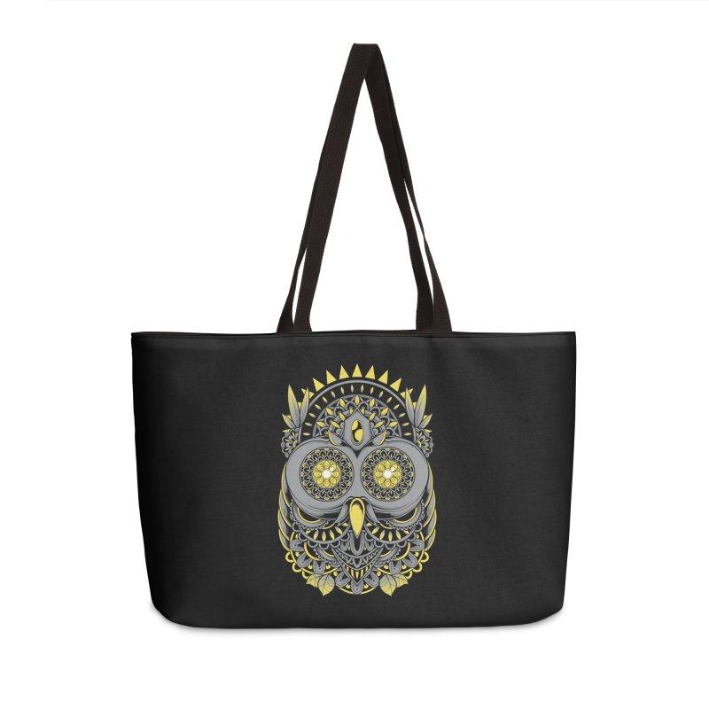 Golden Owl Accessories Bag by godzillarge's Artist Shop