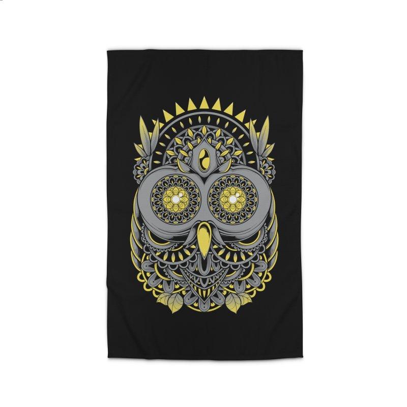 Golden Owl Home Rug by godzillarge's Artist Shop