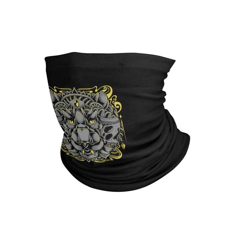Ghost Tiger Accessories Neck Gaiter by godzillarge's Artist Shop