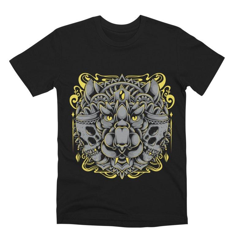 Ghost Tiger Men's T-Shirt by godzillarge's Artist Shop
