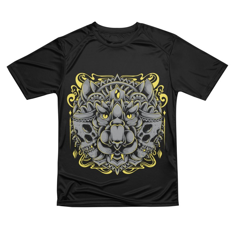 Ghost Tiger Women's T-Shirt by godzillarge's Artist Shop